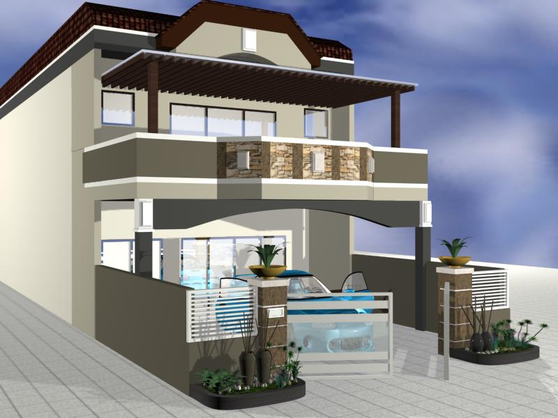 bungalow 3d design